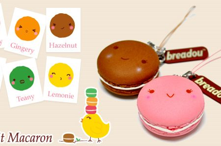 Bredou le Petit Macaron Squishy