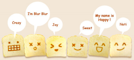 Bredou Roti Toast Accessories Squishy