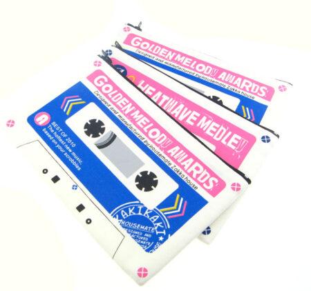 Cassette Style Pencil Case