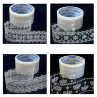 Clear Lace Kawaii Deco Tape - Large