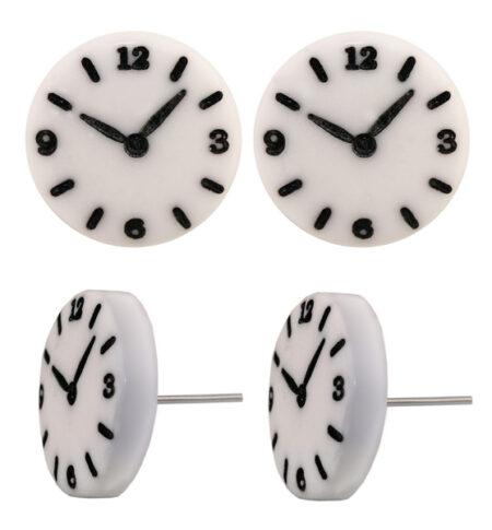 Clock face Earring studs