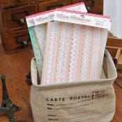 Fabric Lace Zakka Strips