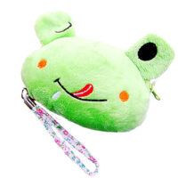 Frog Plush Coin Purse
