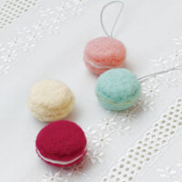 Hamanaka Needle Felting Kit - Strap Macarons
