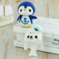 Hamanaka Needle Felting Kit - Marine Seal & Penguin