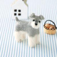 Hamanaka Needle Felting Kit - Miniature Schnauzer
