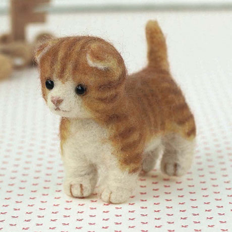 Hamanaka Needle Felting Kit - Munchkin Cat | £7.99 | buy at ...