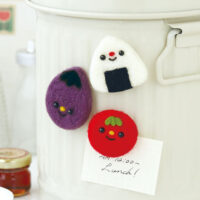 Hamanaka Needle Felting Kit - Obento Magnets