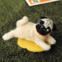 Hamanaka Needle Felting Kit - Pug