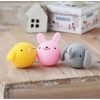 Hamanaka Needle Felting Kit - Smile Trio