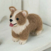 Hamanaka Needle Felting Kit - Welsh Corgi