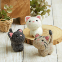 Hamanaka Needle Felting Kits
