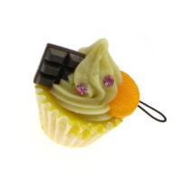 Cupcake Phone Charm