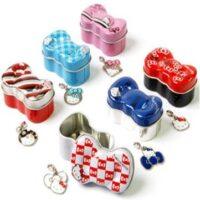 Hello Kitty Charm in tin Gacha
