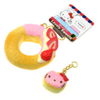 Hello Kitty Lovely Sweets Doughnut Squishy Charm
