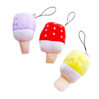 Ice Lolly plush phone charm