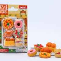Iwako Eraser Set - Bakery Blister Pack
