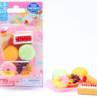 Iwako Eraser Set - Dessert Blister Pack