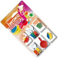 Iwako Eraser Set - Kitchen Utensils Blister Pack