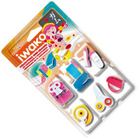 Iwako Eraser Set - School Supply Blister Pack