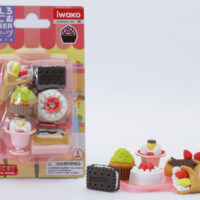 Iwako Eraser Set - Sweets Blister Pack