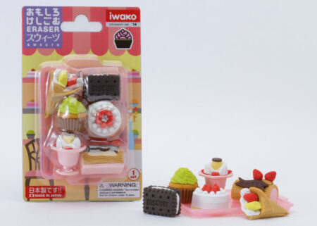 Iwako Eraser Set - Sweets Blister Pack