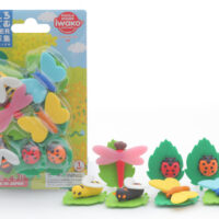 Iwako Eraser Set - Bugs World Blister Pack