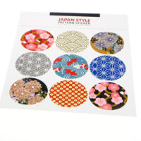 Japanese Style Round Stickers