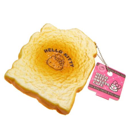 Jumbo Hello Kitty Sweets Cafe Toast Squishy Charm