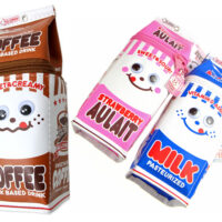 Kamio Milk Carton Pencil Case