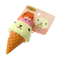 Kapibarasan Cafe Double Scoop Ice Cream Squishy Charm