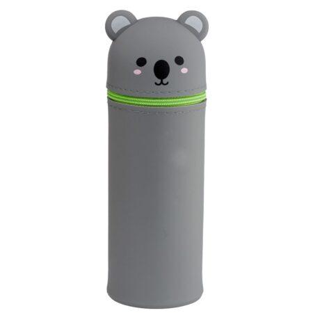 kawaii_Koala_silicon_stand_up_pencil_case