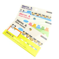 Kawaii Animals Memo and Stick Marker