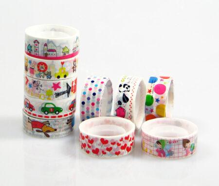 Kawaii Deco tape Small - 10 pack