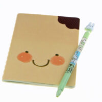 Kawaii Face Expressions Notebook