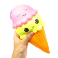 kawaii_face_ice_cream_cone_super_jumbo_slow_rising_squishy