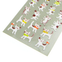 Kawaii Happy Cat Felt Stickers