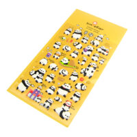 kawaii Happy Panda 3D Sponge Stickers