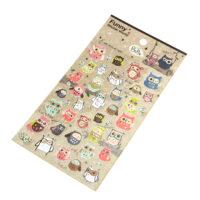 kawaii Owl paper Stickers