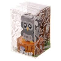 Kawaii Owl Sharpener & Eraser Set