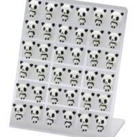 kawaii Panda Earring Studs