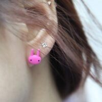 kawaii Rabbit Earring Studs