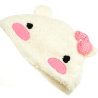 kawaii Rabbit Plush Hat