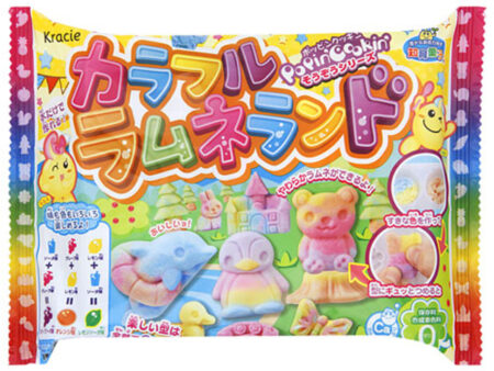 Kracie Popin Cookin DIY Candy - Colourful Ramune Land