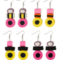 Liquorice Allsorts Drop Earrings