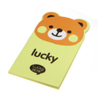 Lucky Bear Animal Notebook