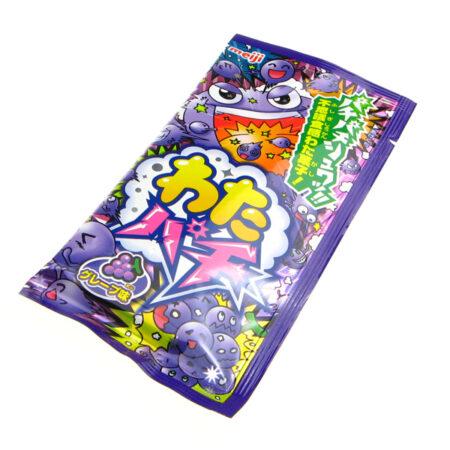 Meiji Watapachi Popping Candy Floss - Grape