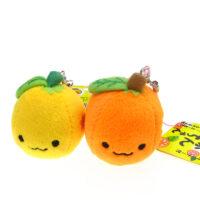 Mikan Chan Fruit Plush phone Charm