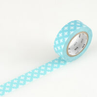 mt Washi Tape - Cross Light Blue