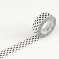 mt Washi Tape - Dot Black